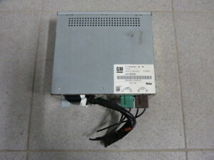 Cadillac STS 05-11 Steuergerät TV Receiver Tuner Video control unit 25726568