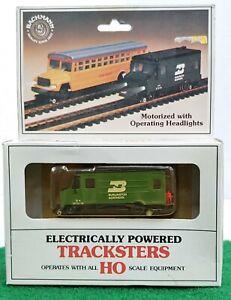 Vintage Bachmann Tracksters Ho Scale Motorized BN Hy-Rail Detector #46-1236 RARE
