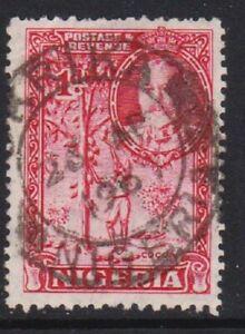 NIGERIA POSTMARK - OKRIKA 1937