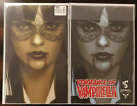 Vengeance of Vampirella #5 1:7 Oliver Virgin Tint Variant + Oliver Variant