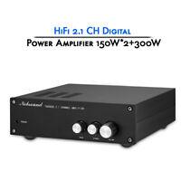 2.1 Channel Digital Power Amplifier Stereo Class D Home Audio Amp 300W+150W*2
