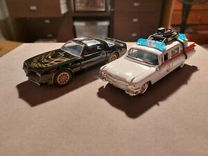 Jada Toys Hollywood Rides Ghostbusters Ecto 1 / Bandit 1:32 Scale Die Cast