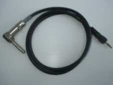 "Mogami 2319 1/4"" Trsa to 1/8"" Trs Locking Instrument Cable Black 3 Feet"