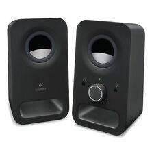 Logitech speaker z150 Black PC-altavoces control de volumen aux - & entrada de audio