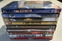 BULK DVD Movies - Adventure - Action - Comedy - Thriller - Drama - Movie DVDs