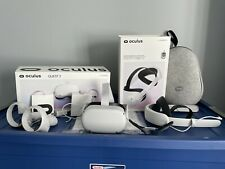 Oculus Quest 2 256GB Standalone All-in-One VR Headset BUNDLE! Barely Used!