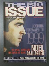 Vintage 1999 BIG ISSUE Magazine, NOEL GALLAGHER, OASIS, No. 316, January 4