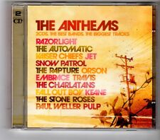 (HK373) The Anthems, 42 tracks various artists - 2006 double CD