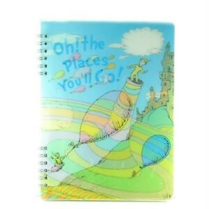 Vandor Lenticular Spiral Notebook- Dr. Suess #17295