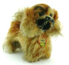 Steiff Hund Peky ca. 12x12cm unbespielt mit Namensplakette