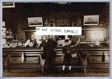 New Orleans Postcard (Read Description) CA. 1905 Interior Of A West End Area Bar