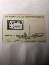 Sixth International Philatelic Exhibition Washington D.C.1966 US 5 Cents Postage