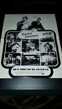 Friendly Persuasion Richard Kiley Rare ABC TV Promo Poster Ad Framed!