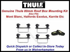 THULE 90MM ROOF BOX FITTING KIT ALSO FITS MONT BLANC HALFORDS EXODUS KARRITE