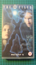 The X-Files - File 11: Patient X / Red and Black (VHS, 1996) Gillian Anderson