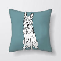 Dog German Shepherd Cushion Covers Pillow Cases Home Decor or Inner