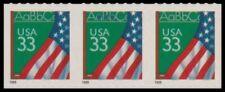 3283 Flag Chalkboard 33c Self Adhesive Lighthouse Strip of 3 1999 MNH - Buy Now