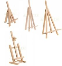 Artist Table EASEL Natural Beech Wood Ideal for Painting or Displaying