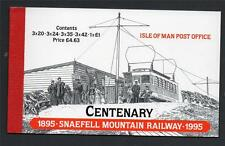 ISLE OF MAN 1995 CENTENARY OF SNAEFELL MOUNTAIN RAILWAY BOOKLET