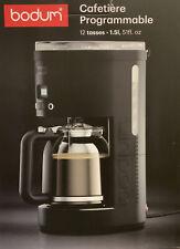 Bodum BISTRO Programmierbare elektrische Kaffeemaschine 12 Tassen 1.5 l (R2/3