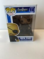 Funko POP!Marvel The Avengers - NICK FURY #14 W/HARD STACK VAULTED AUTHENTIC