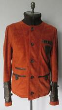 Gucci Red Suede Leather Jacket