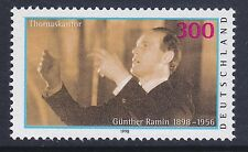 Germany 2021 MNH 1998 Günther Ramin - Organist & Choir Leader Issue VF