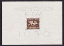 Germany Sheet Sports Postal Stamps