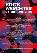 4 tickets Camping The Hive My Space rock Werchter 2019 -30%