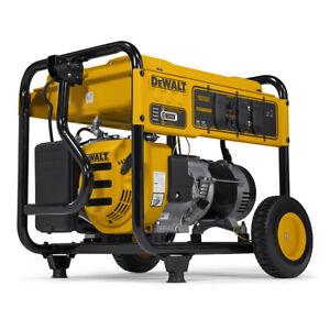 DeWALT 6500-Watt Portable Gas Generator (certified refurbished) | DXGNR6500 |...