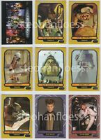 2013 Topps Star Wars Galactic Files 350 Card Complete Series 2 Base Set