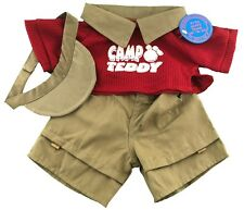 "Camp Teddy Outfit Fits Build A Bear Workshop 12"" - 16"" Teddy Bears, Clothes"