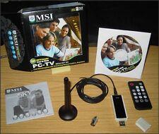MSI Mega SKY 580 OVP-digitali alle trasmissioni televisive ovunque mediante DVB-T tramite USB