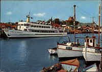 Schiffe & Seefahrt Schiffsfoto-AK Schiff STADT HEILIGENHAFEN 1978 Ship-Photo-Pc.