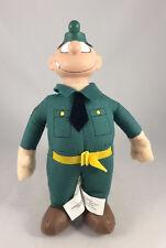 2000 Beetle Bailey Sergeant Orville Snorkel Plush Doll Vinyl Head