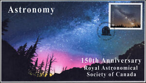 CA18-029, 2018, Astronomy, Pictorial, First Day Cover, Milky Way