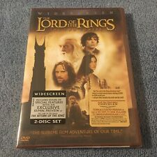 The Lord of the Rings: The Two Towers (Dvd, 2003, Widescreen) Brand New Sealed
