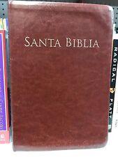 Bíblia Letra Grande Tamaño Manual Con Referencia Piel Índice riena valera 1960