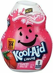 Kool Aid Liquid Drink Mix - Strawberry Pack of 4
