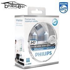 Bombillas Philips H7 white Vision intenso white xenón efecto 3700K + 2T10 W5W
