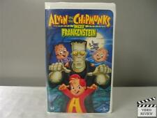 Alvin and the Chipmunks Meet Frankenstein (VHS, large case)