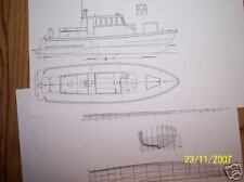 pilot boat model boat plan