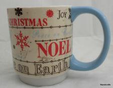 Coffee Mug Repro Vintage Christmas Styling Lang Kim Poloson Peace Joy Noel 2009