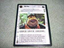 Star Wars CCG - Theed Palace - Boss Nass - NM / SWCCG