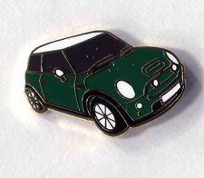 green bmw mini motor car lapel badge new shape  (193) The Italian Job