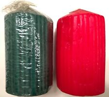 """NEW Choice of 3 Jumbo 2.25/"""" tealights or 3 2/""""x1.75/"""" Square Votive Candles"""
