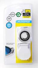 HPM Outdoor Ip44 Heavy Duty Weather Proof 24 Hours Timer