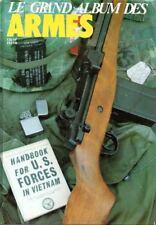 ANTIQUE FIREARMS - 6 BOUND ISSUES FRENCH GAZETTE DES ARMES - 114-119 FEB-JUL1983