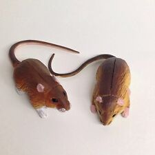 Choco Egg Mini Figure Harvest Mouse & Large Japanese Field Mouse Kaiyodo Japan