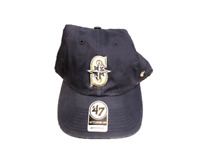 NWT New Seattle Mariners '47 Brand Clean Up Logo Hudson Prep Adjustable Hat